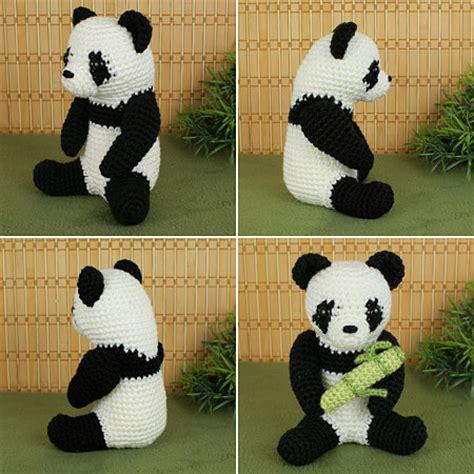 GIANT PANDA CROCHET PATTERN   CROCHET