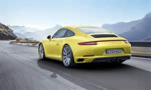 Porsche 4s 2016 Porsche 911 4 4s And Targa 4 4s Revealed