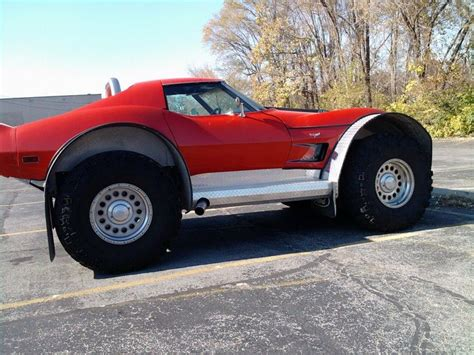 lifted corvette not to be outdone lifted 4x4 corvette jack d up toy s
