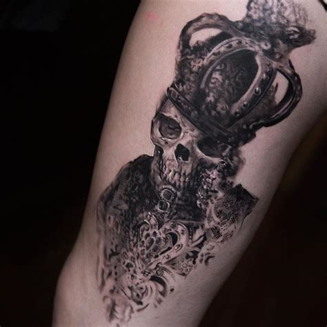 skull leg tattoo designs skull by niki norberg design of tattoosdesign of