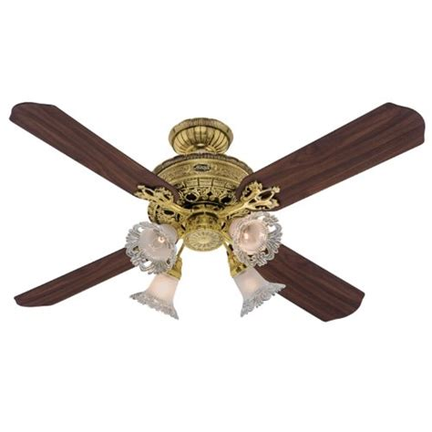 hunter fan blades amazon hunter 23710 1896 art noveau 4 light 52 inch ceiling fan