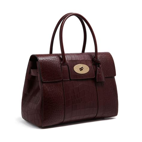 Artist Julie Verhoeven For Designer Mulberry Shopper Tote by Mulberry Bayswater Leather Bag In Lyst