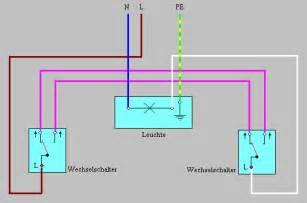 eine le 2 schalter probleme mit led beleuchtung 252 ber wechselschaltung www
