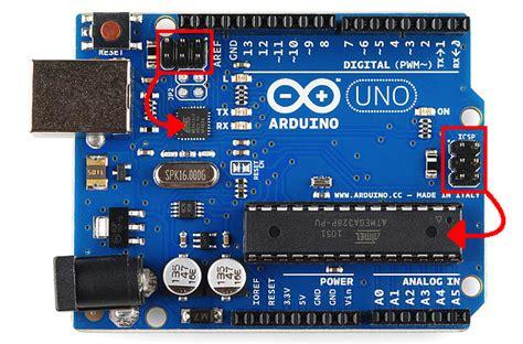 Arduino Uno Ic Smd 328p R3 installing an arduino bootloader learn sparkfun