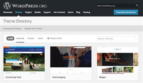 wordpress themes meaning 4 lean and mean wordpress themes for manufacturers the