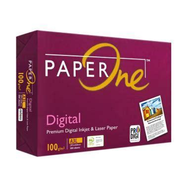Kertas Copy Paper A4 70g 1 Dus paper one blibli