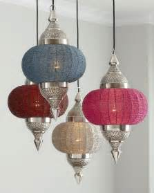 Indian inspired manak pendant light from horchow