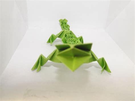 Origami Gecko - origami lizard by lostvapor on deviantart