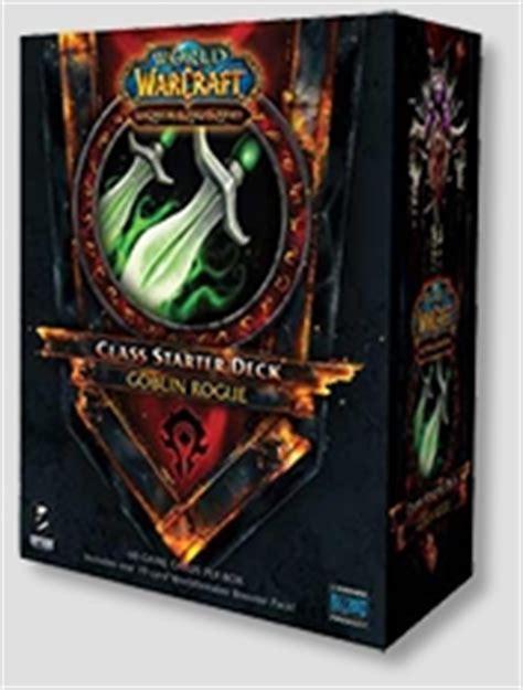 Rogue Starter Deck by World Of Warcraft Tcg 2011 Class Starter Deck Box