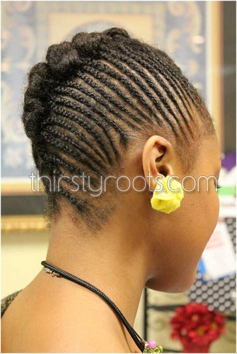 cornrow french roll hairstyles cornrows updo bun