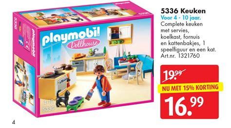 speelgoed keuken kruidvat playmobil 5336 keuken aanbieding bij bart smit
