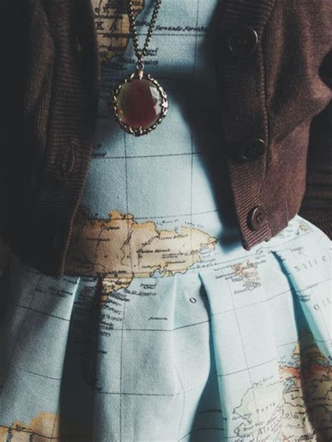 tumblr adventure map dress clothes map print jewels new years resolution