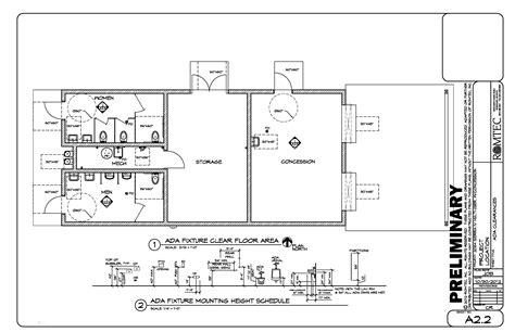 restroom floor plan restroom design and the americans with disabilities act