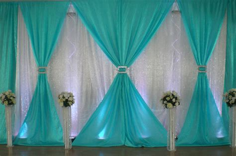 how to do backdrop draping gathered backdrop