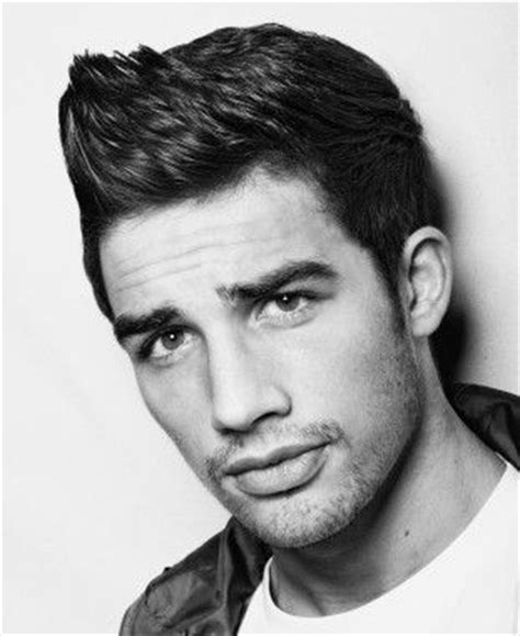 different types of mens quiffs short black straight quiff mens hairstyles for men