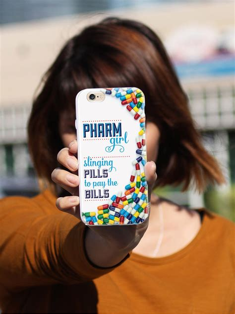 pharm girl pharmacy tech pharmaceuticals case inspiredcases
