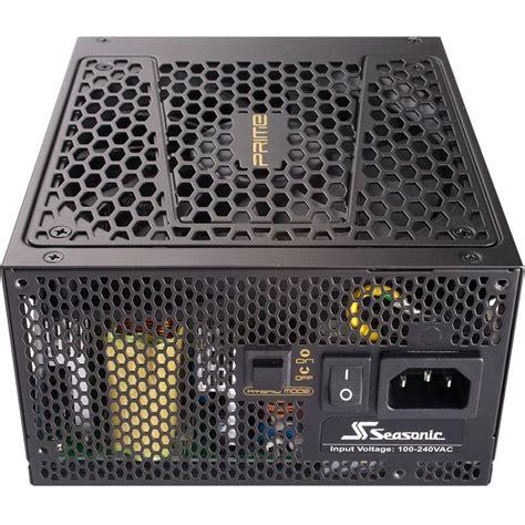 Seasonic Prime Ultra Gold 850gd 850w Modular 850 watt seasonic prime modular 80 gold netzteile ab