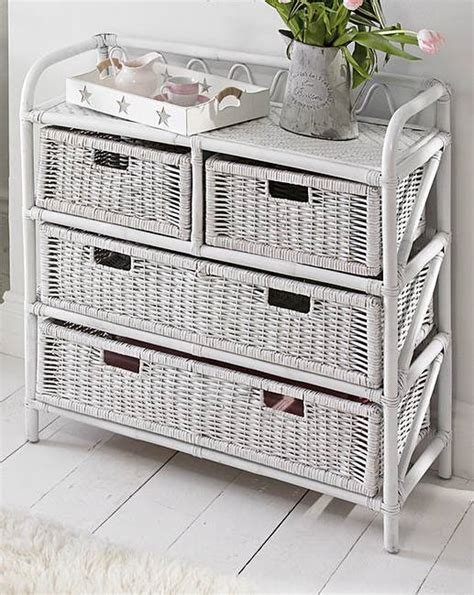 white wicker 5 drawer chest white wicker 4 plus 2 drawer chest house of bath