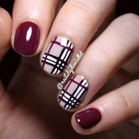 plaid pattern nails 39 awesome plaid nail art designs for your preppy days