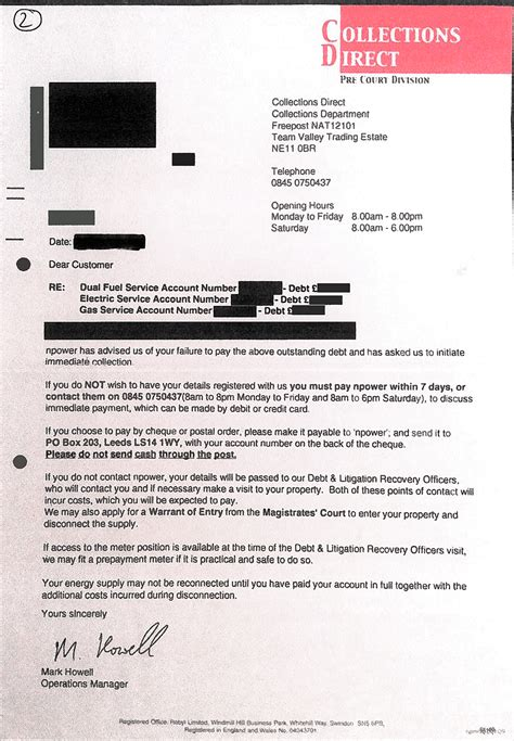 Tax Credit Investigation Letter News Ofgem To Review Energy Firms Debt Letters