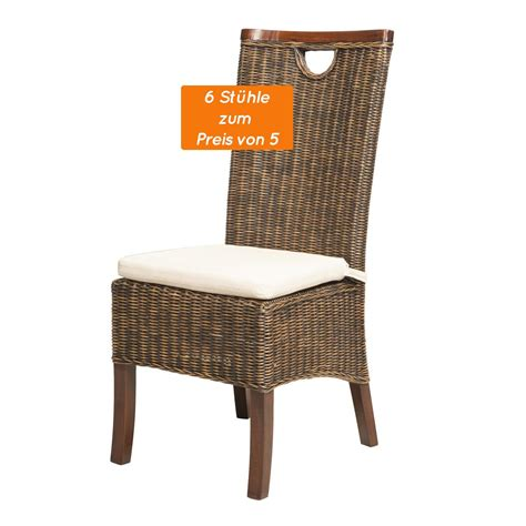 Esszimmer Le Glas by Glass Furniture St 252 Hle Rattan Esszimmer