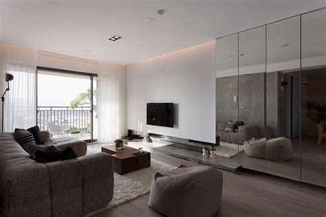 Minimalist Apartment by Minimalist Apartment In Taiwan By Fertility Design