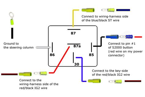 12v 14 pin relay wiring diagram 12v get free image about