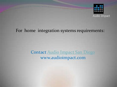audio impact san diego smart home automation benefits