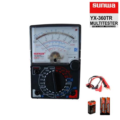 Multitester Yx 360tr sunwa multimeter yx 360tr e l b with end 5 25 2018 9 15 am