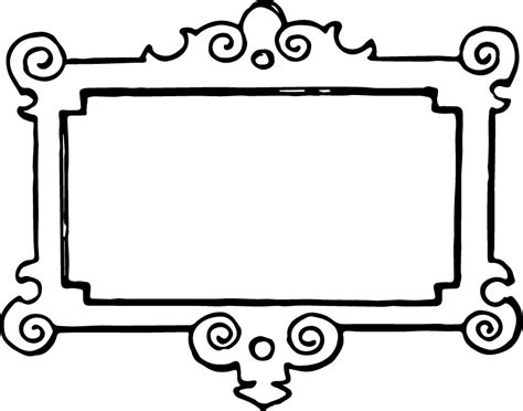 What Colors Make Yellow free clip art vintage frame oh so nifty vintage graphics
