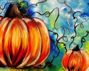 paint nite in albuquerque national pumpkin day here s a painted pumpkin more than