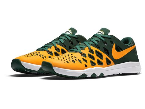 green bay packer sneakers green bay packers nike speed 4 nfl kickoff shoes
