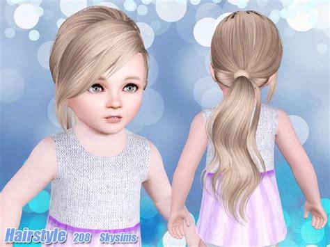 skysims hair child 204 sims 3 pinterest sims skysims hair toddler 208 k sims 3 pinterest