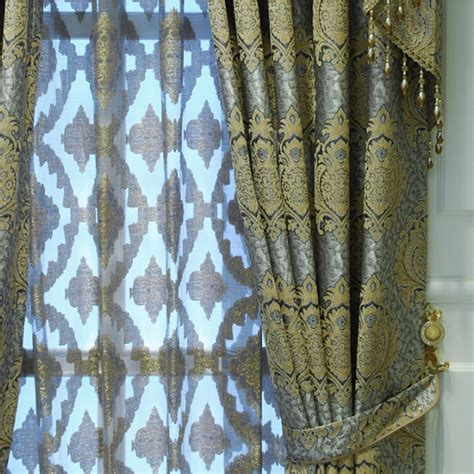 insulated fabric for curtains quality chenille fabric jacquard craft insulated blackout