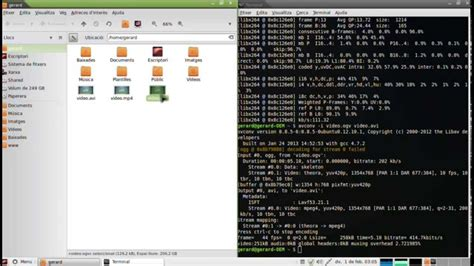 format video converter linux convert ogv video format to avi or mp4 in linux avconv