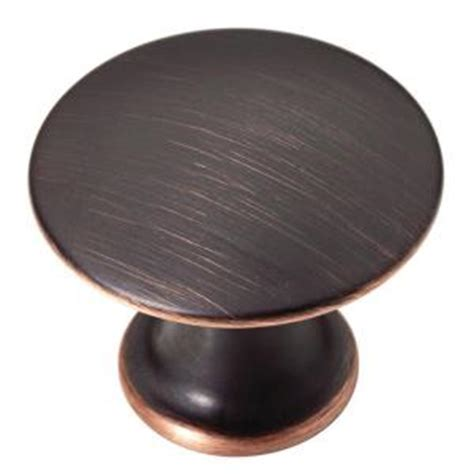home depot kitchen cabinet knobs martha stewart living 1 1 8 in venetian bronze with