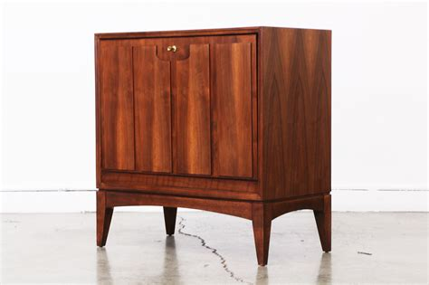 mid century modern record cabinet mid century record cabinet by vintage supply store