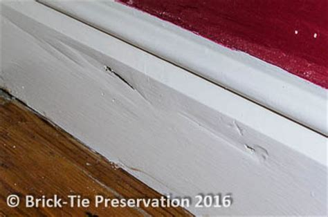 buying a house with dry rot what is dry rot brick tie preservation