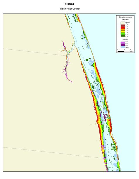sea level rise florida map more sea level rise maps of florida s atlantic coast