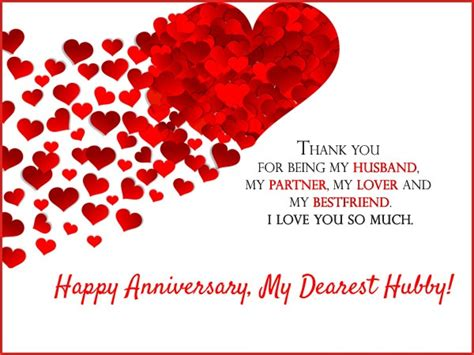 Wedding Anniversary Message For by Anniversary Wishes For Husband 9to5animations