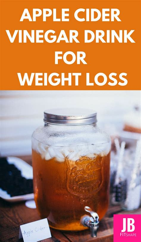 Detox Drink Weight Loss With Apple Cider Vinegar by Apple Cider Vinegar Drink For Weight Loss Apple Cider