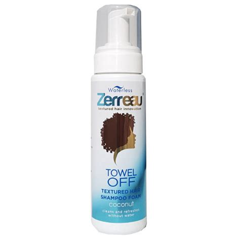 products for tousled textured hair zerreau 174 towel off 174 strawberry dry shoo 180ml zerreau 174