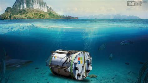 Senter Underwater Water Data Center By Microsoft Mondayblogger