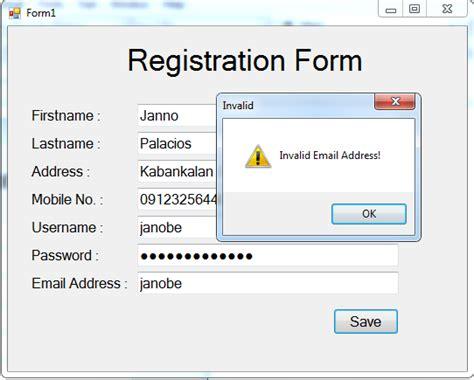 password regex pattern javascript validating a registration form using regular expression in c