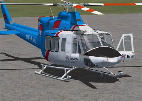 Heli Bell 412 Ep cera sim bell 412ep for fsx and p3d