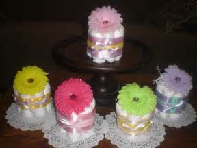how to make cake centerpiece flower baby shower centerpieces mini cakes different