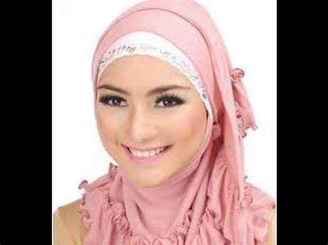 tutorial hijab segi empat citra kirana jilbab putih qasidah video tutorial jilbab pashmina ala