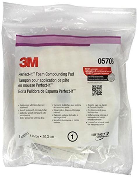 Ipo Foam Compounding Pad 3 Quot 3m 33284 it 6 quot foam compounding pad 11street