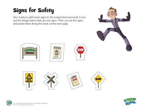 Safety Signs Worksheets by Safety Signs Worksheets For Kindergarten