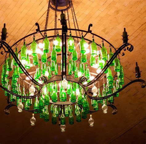 Cheap Kitchen Storage Ideas 25 creative wine bottle chandelier ideas hative